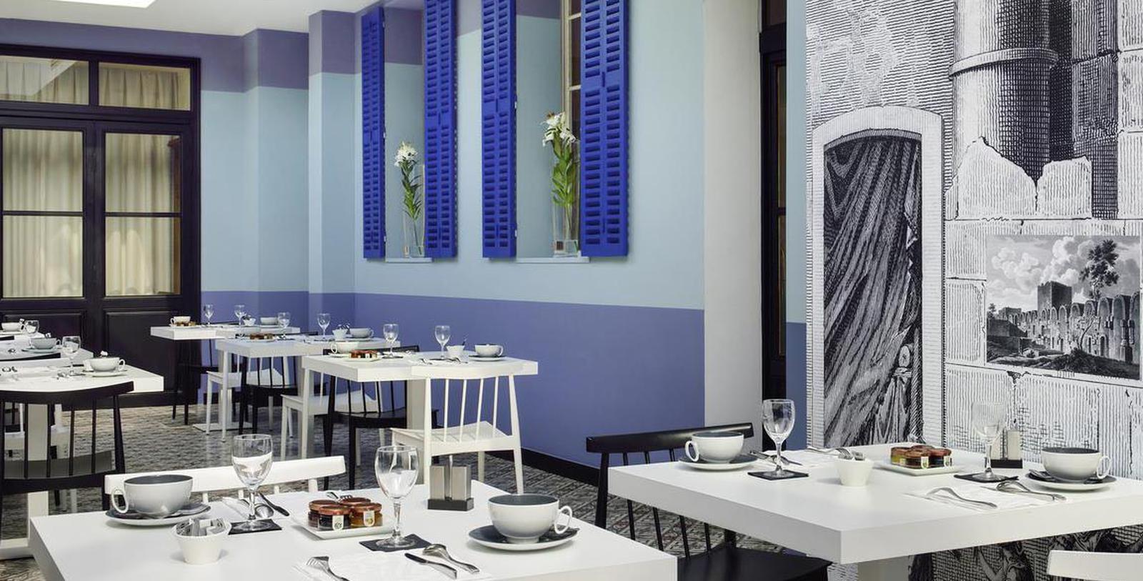 Image of Dining Area Hôtel & Spa Jules César Arles – MGallery by Sofitel, 1661, Member of Historic Hotels Worldwide, in Arles, France, Taste