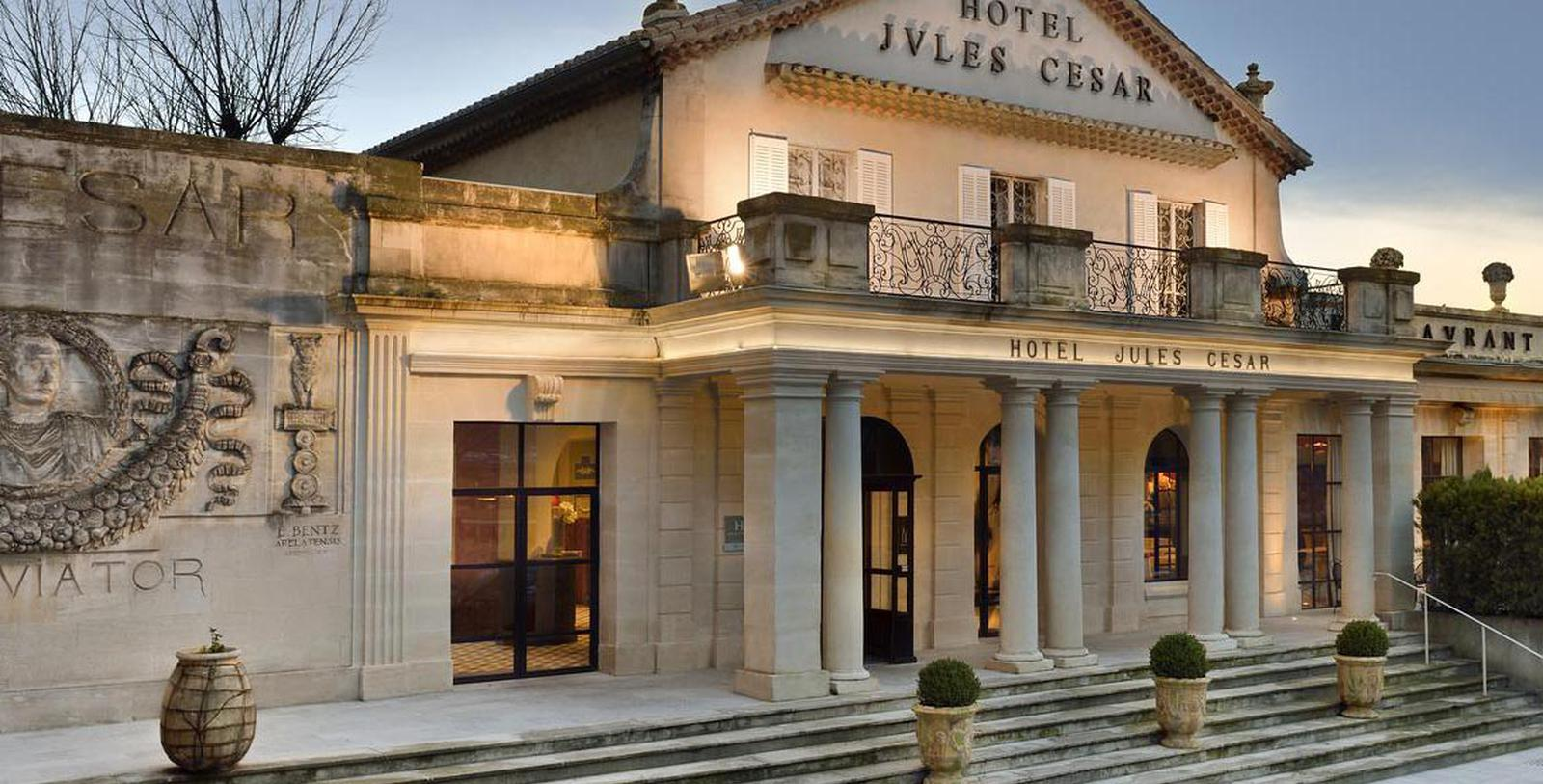 Image of Entrance Hôtel & Spa Jules César Arles – MGallery by Sofitel, 1661, Member of Historic Hotels Worldwide, in Arles, France, Overview