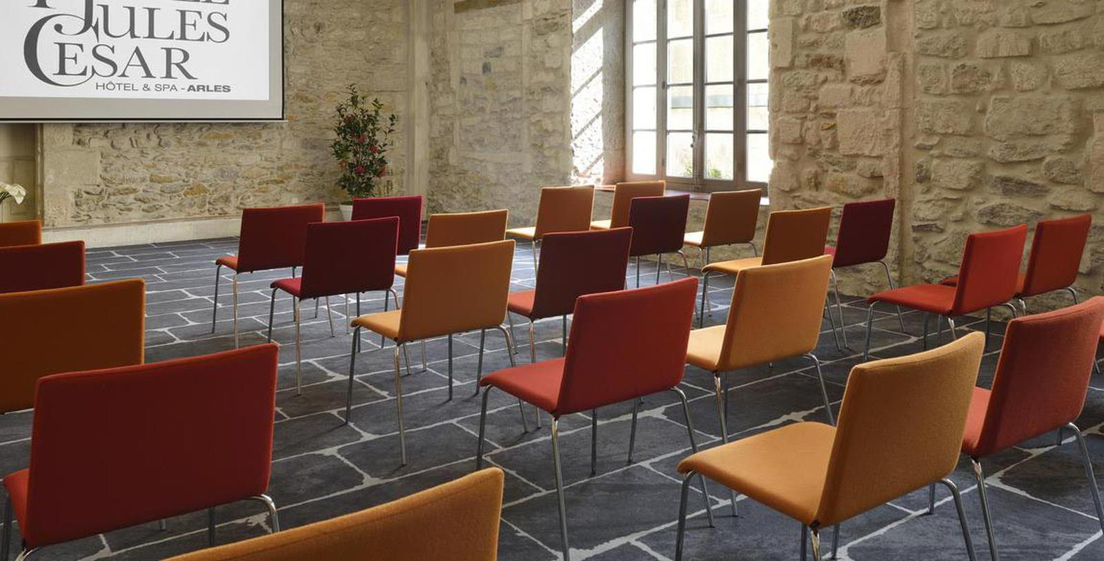 Image of Meeting Room Hôtel & Spa Jules César Arles – MGallery by Sofitel, 1661, Member of Historic Hotels Worldwide, in Arles, France, Experience