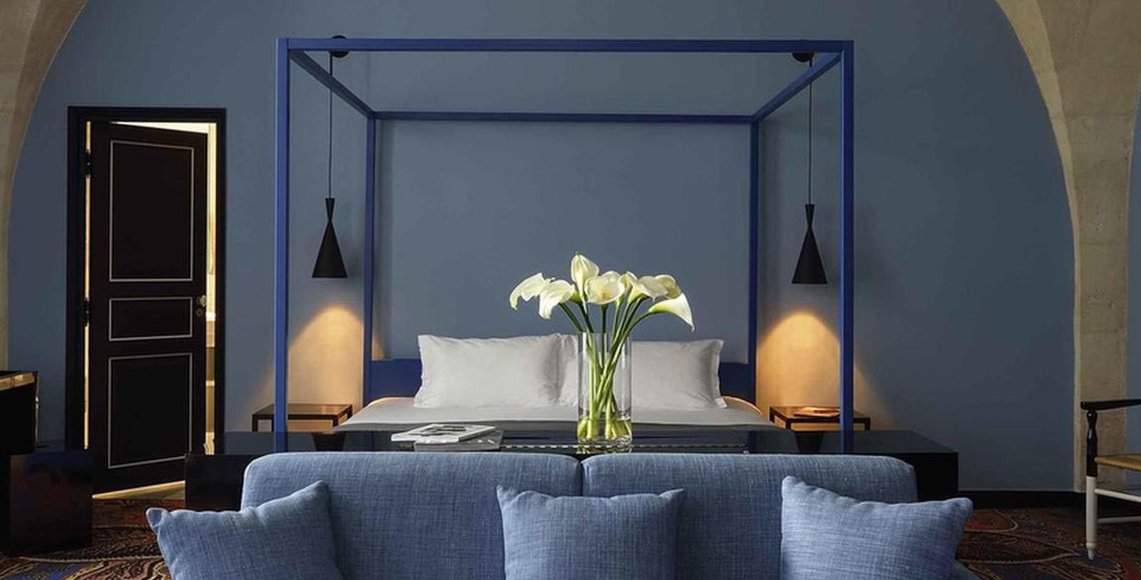 Image of Guestroom Interior Hôtel & Spa Jules César Arles – MGallery by Sofitel, 1661, Member of Historic Hotels Worldwide, in Arles, France, Accommodations