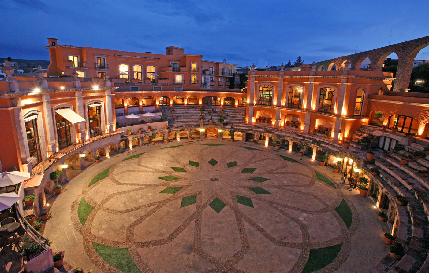 Dining:      Quinta Real Zacatecas  in Zacatecas