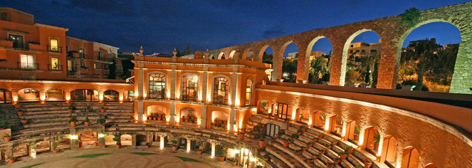 Local Attractions:      Quinta Real Zacatecas  in Zacatecas