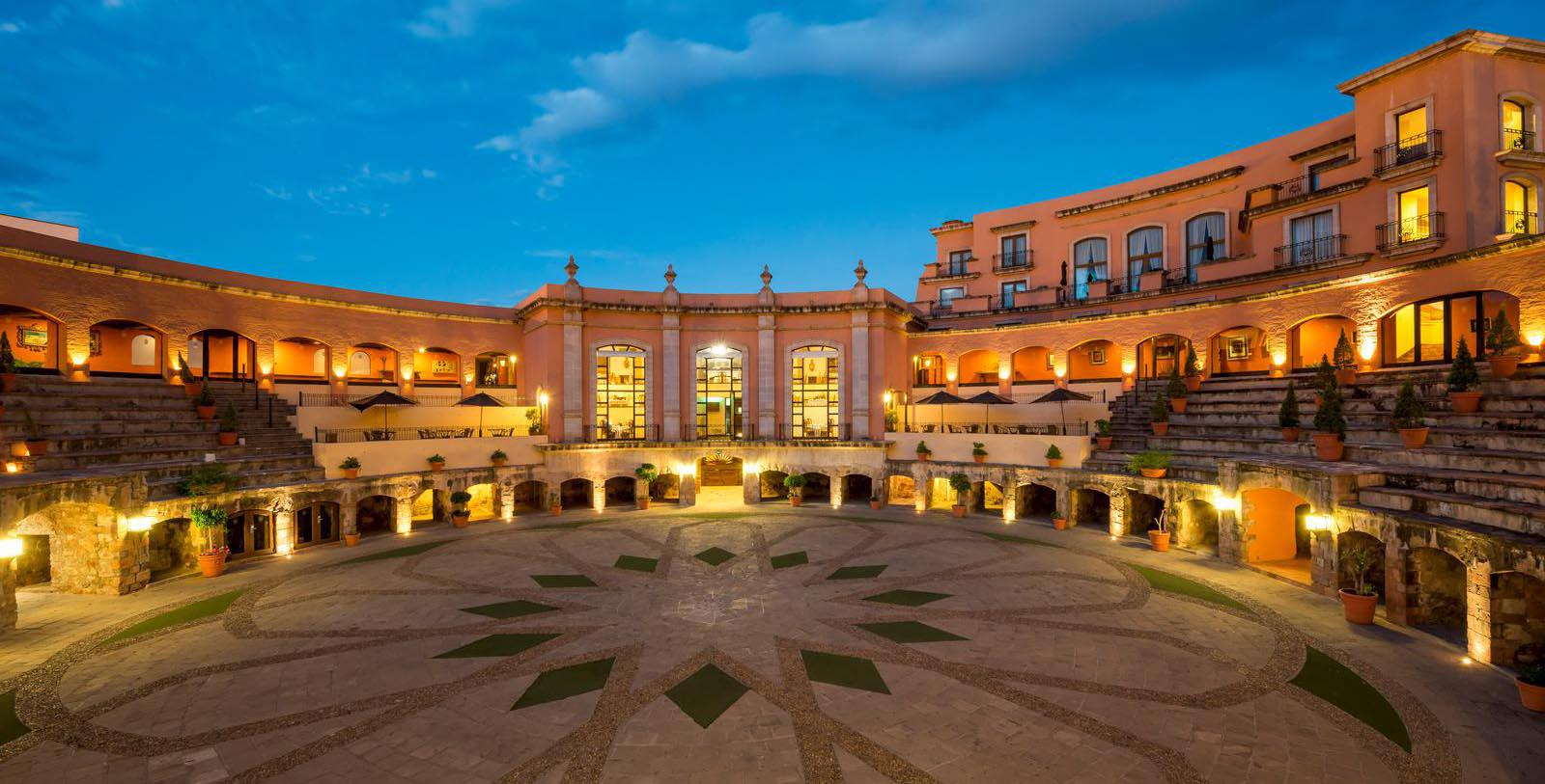 Image of Courtyard Quinta Real Zacatecas, 1866, Member of Historic Hotels Worldwide, in Zacatecas, Mexico, Discover