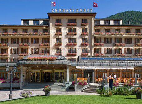 Image of Grand Hotel Zermatterhof, 1879, Member of Historic Hotels Worldwide, Zermatt, Switzerland, Special Offers, Discounted Rates, Families, Romantic Escape, Honeymoons, Anniversaries, Reunions