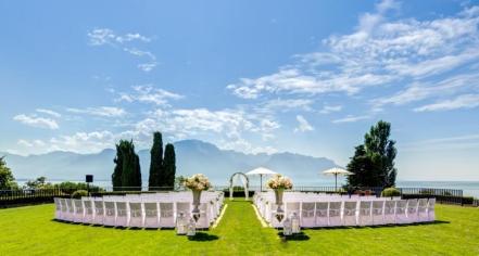 Weddings:      Fairmont Le Montreux Palace  in Montreux
