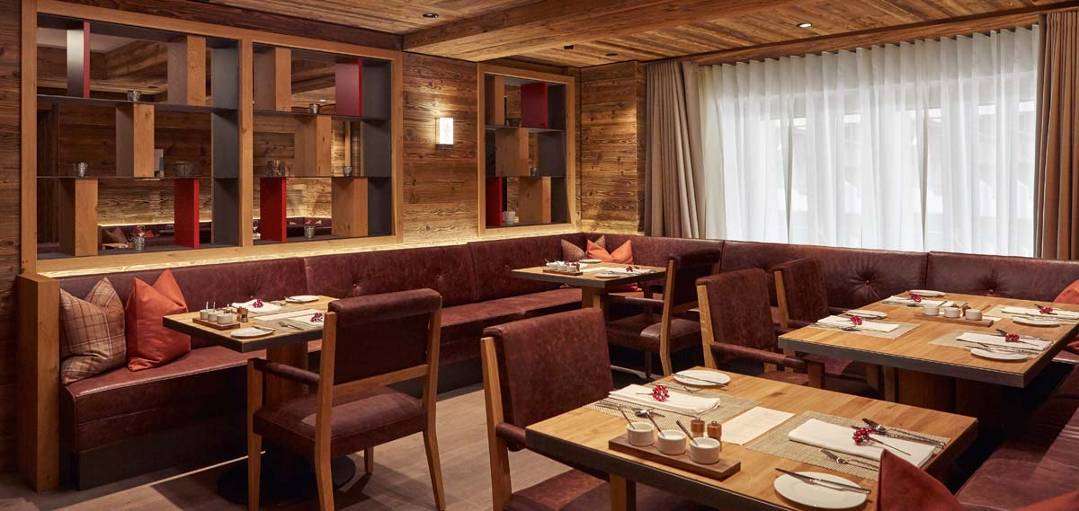 Dining:      The Capra Saas-Fee  in Saas-Fee