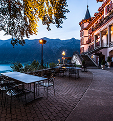 Dining at      Grandhotel Giessbach  in Brienz
