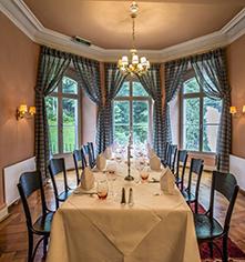 Dining at      Grandhotel Giessbach  in Brienz