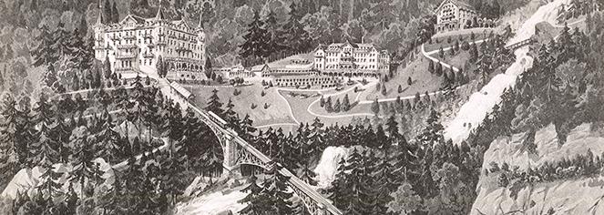 History:      Grandhotel Giessbach  in Brienz