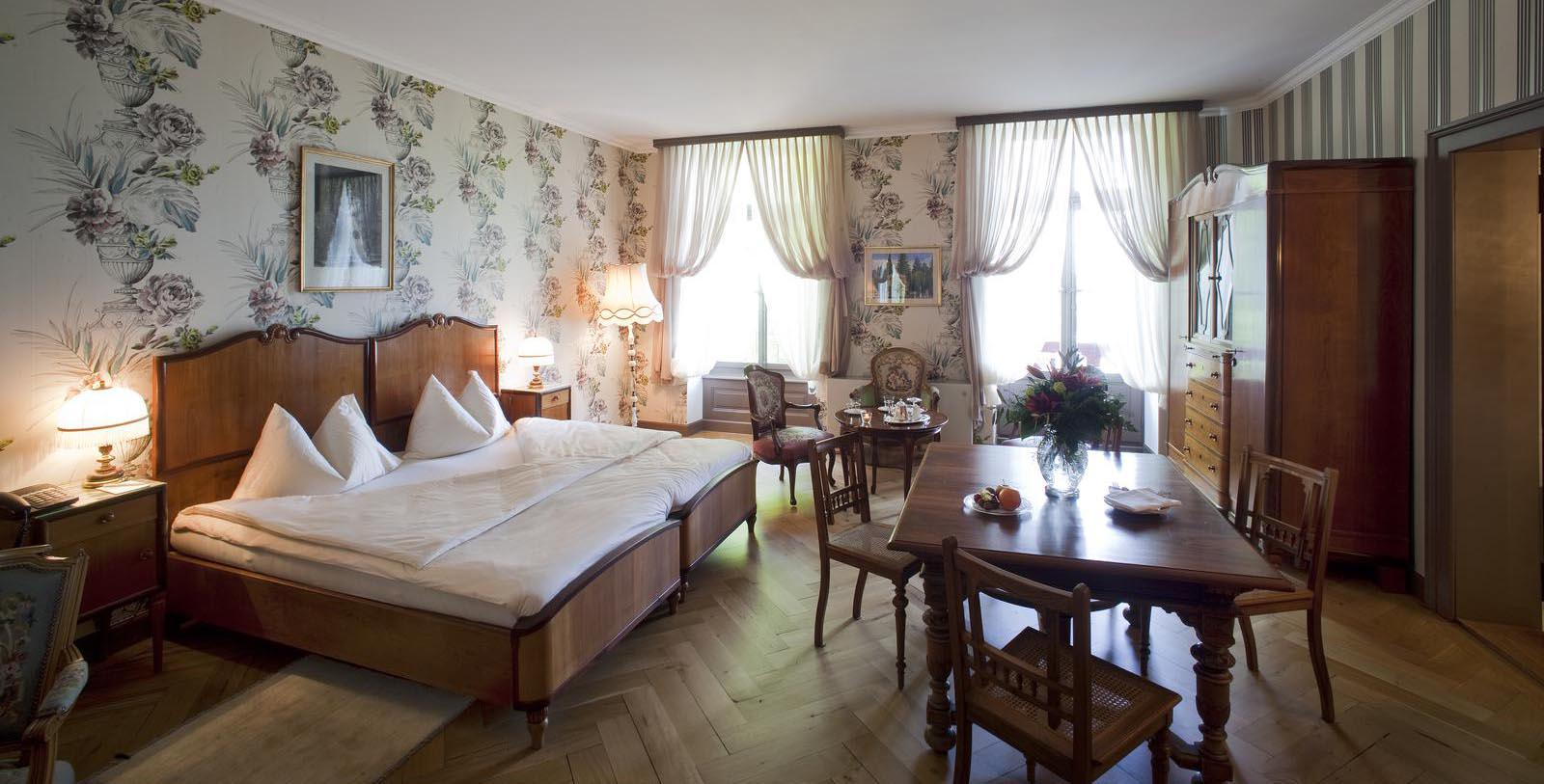 Image of Guestroom Interior, Grandhotel Giessbach, Brienz, Switzerland, 1822, Member of Historic Hotels Worldwide, Location Map