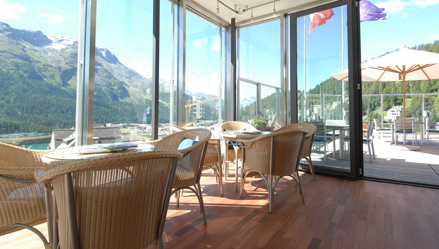 art boutique Hotel Monopol  in St. Moritz