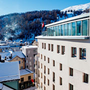 Book a stay with art boutique Hotel Monopol in St. Moritz