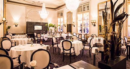 Dining at      Kempinski Grand Hotel des Bains St. Moritz  in St. Moritz