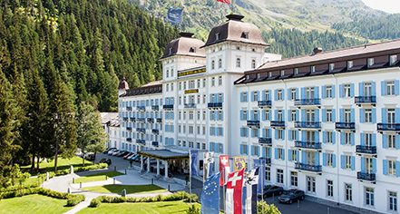 Local Attractions:      Kempinski Grand Hotel des Bains St. Moritz  in St. Moritz