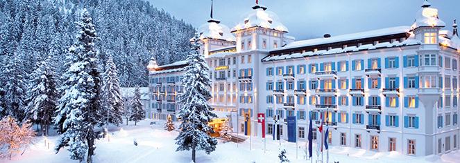 Kempinski Grand Hotel des Bains St. Moritz  in St. Moritz