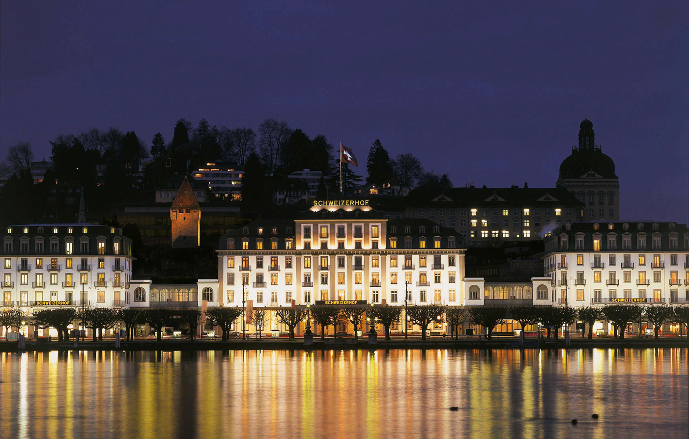 Customer Reviews:      Hotel Schweizerhof Luzern  in Lucerne
