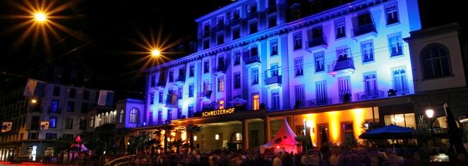 History:      Hotel Schweizerhof Luzern  in Lucerne
