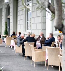 Dining at      Hotel Schweizerhof Luzern  in Lucerne