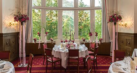 Weddings:      Hotel Waldhaus Sils  in Sils Maria