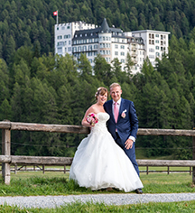Weddings:      Hotel Waldhaus Sils  in Sils Maria