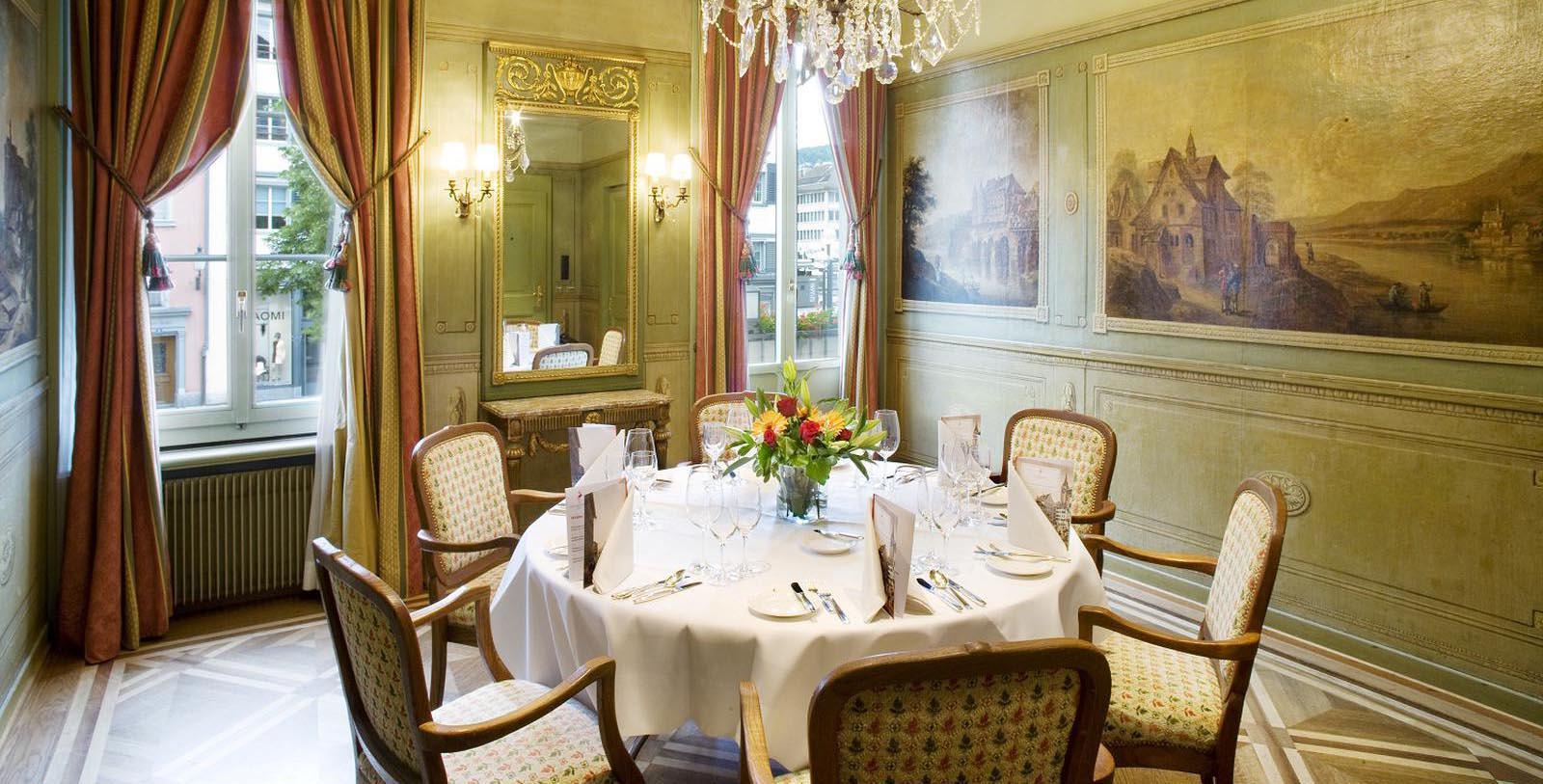 Image of Werdmüllersaal Banquet Room at Storchen Zürich, 1357, Member of Historic Hotels Worldwide, in Zurich, Switzerland, Taste