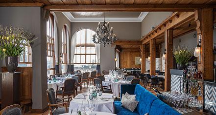 Dining at      Storchen Zürich  in Zurich