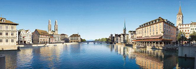 Local Attractions:      Storchen Zürich  in Zurich