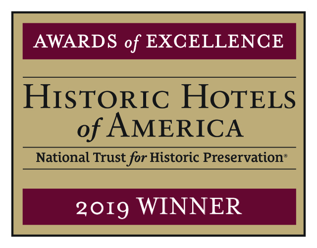 2019 Historic Hotels of America Awards of Excellence