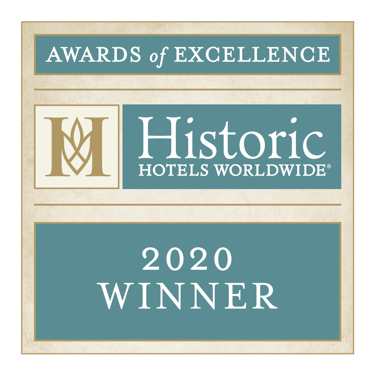 2020 Historic Hotels Worldwide Awards of Excellence