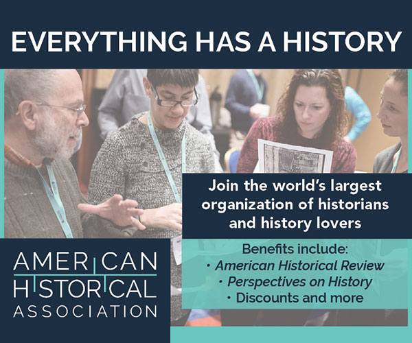 Join the American Historical Association Today!