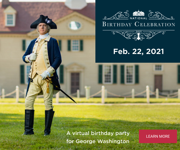 George Washington's Birthday Celebration at Mount Vernon