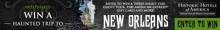 Win a Haunted Trip to New Orleans