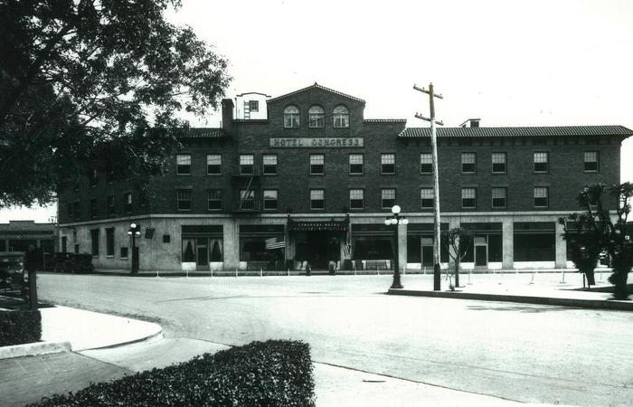 History Mystery featuring Hotel Congress