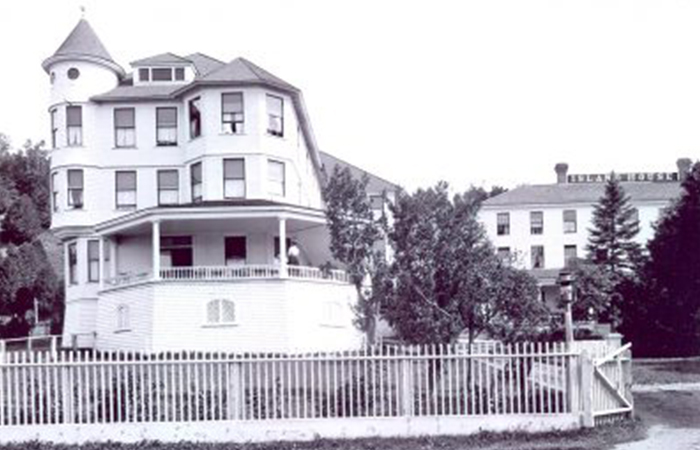 History Mystery featuring Island House