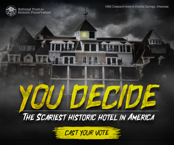 Historic Hotels of America announces the most haunted hotels of 2020