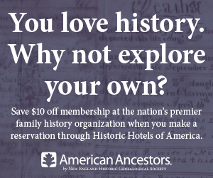Special offer from AmericanAncestors.org