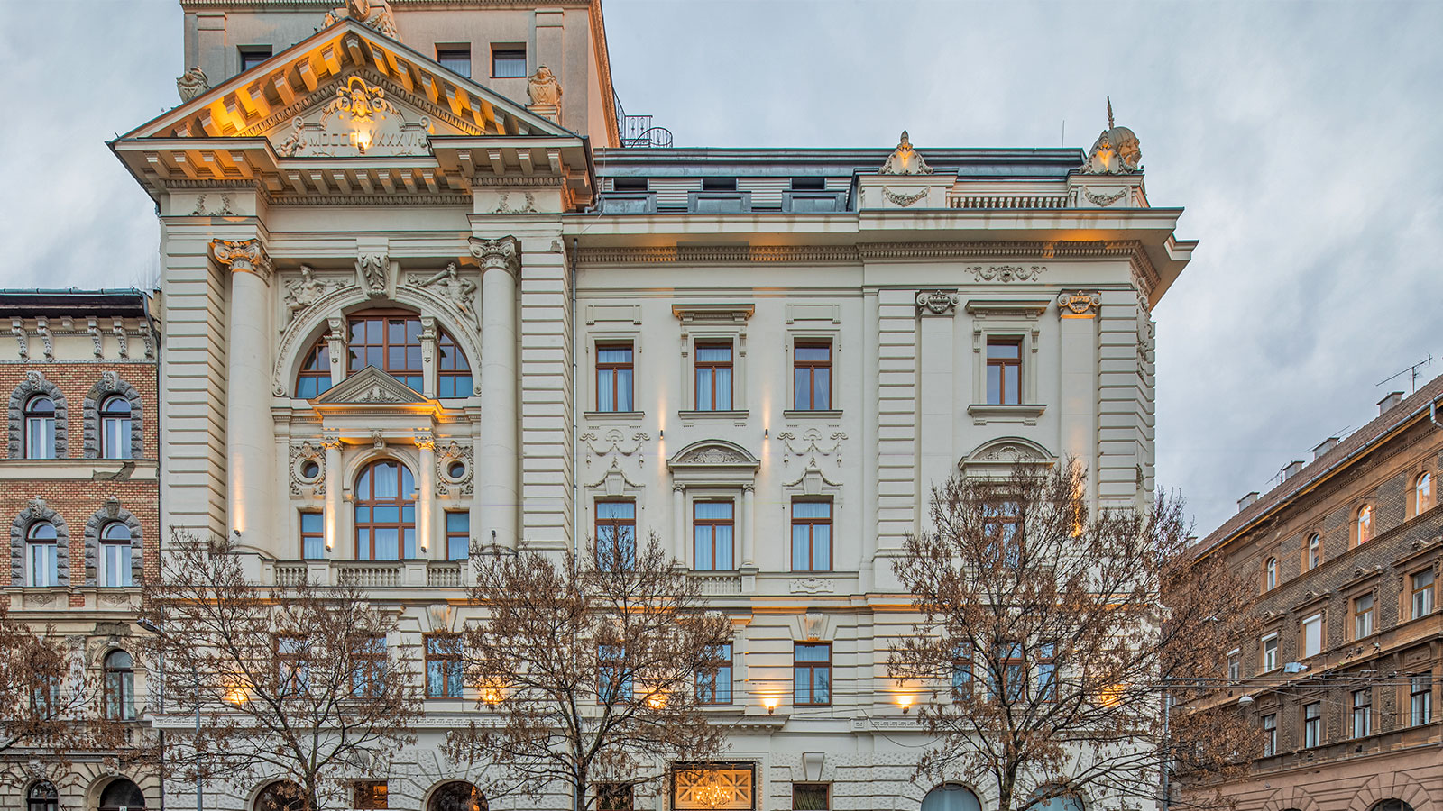 Image of Hotel Exterior, Mystery Hotel Budapest, 1896, Member of Historic Hotels Worldwide, Budapest, Hungary, Special Offers, Discounted Rates, Families, Romantic Escape, Honeymoons, Anniversaries, Reunions