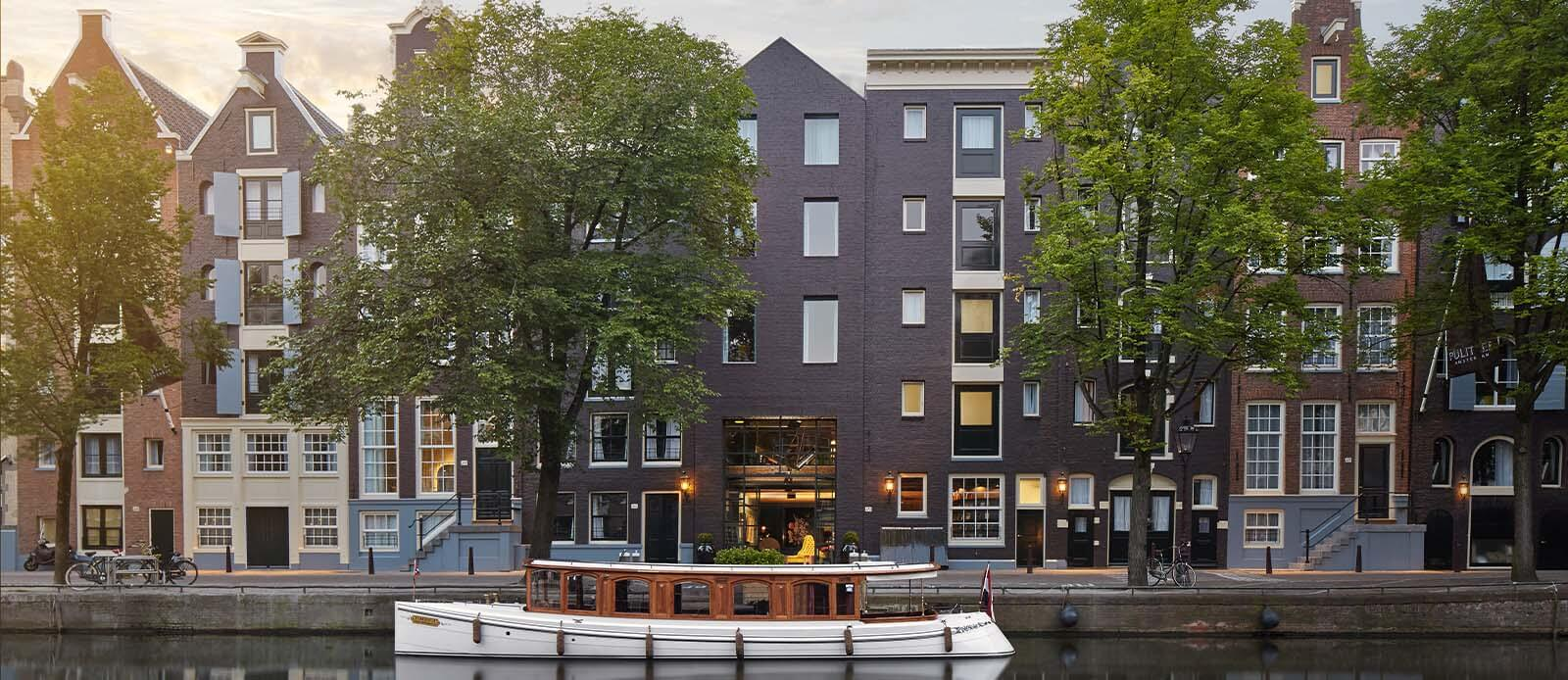 Exterior View of Pulitzer Amsterdam