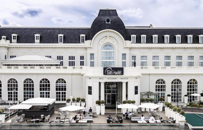 Daytime exterior at Cures Marines Trouville Hôtel Thalasso