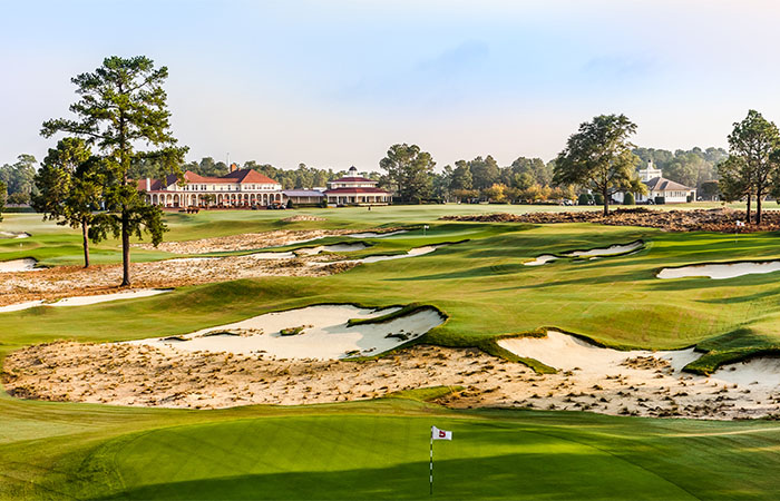 The Cradle Short Course at the Pinehurst Resort in North Carolina.