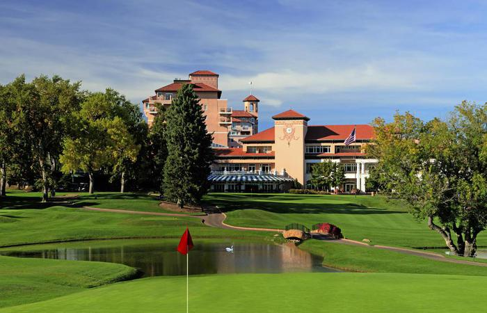 Image of championship golf course at The Broadmoor in Colorado Springs, Colorado.