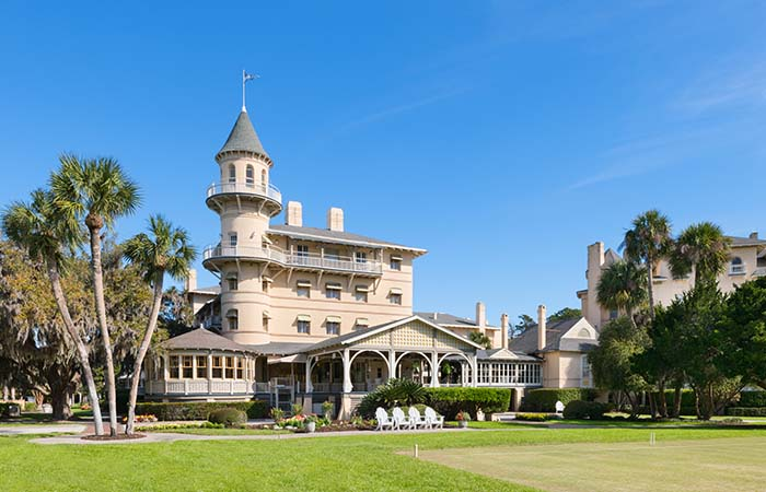 Five Historic Hotels with Guided Tours that Bring the Past to Life featuring Jekyll Island Club Resort