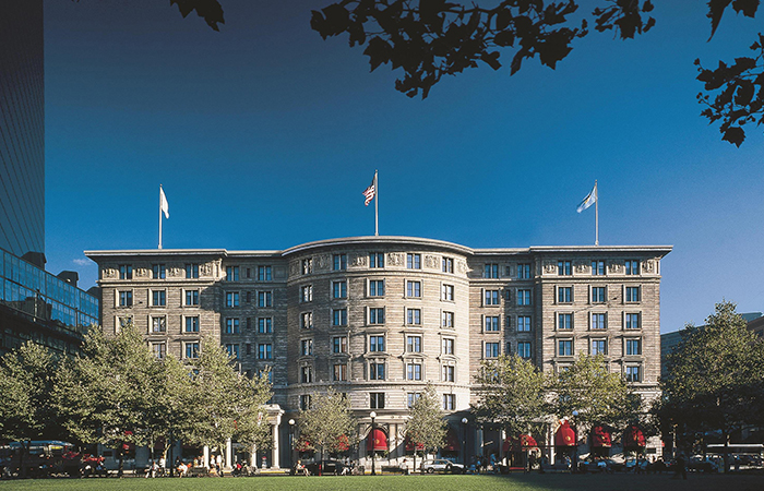 Fairmont Copley Plaza Named 2019 Historic Hotels of America Historic Hotel of the Year