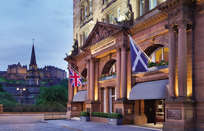 75 Legendary Historic Hotels Inducted into Historic Hotels Worldwide including Waldorf Astoria Edinburgh