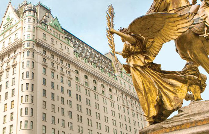 10 of New York City's Most Historic Hotels including The Plaza