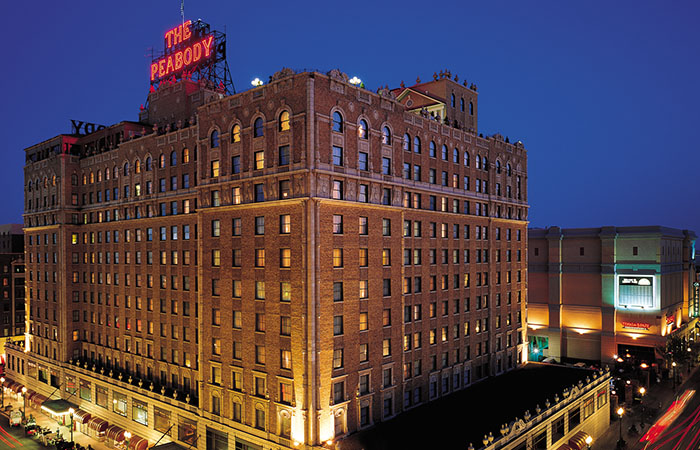 The Peabody Memphis Named Best Historic Hotel by USA Today