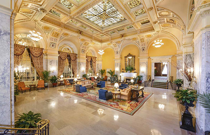 Historic Hotels of America Top 25 Most Magnificent Gingerbread Displays featuring The Jefferson in Richmond, Virginia