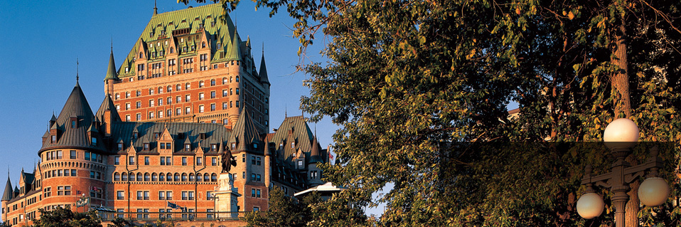 Book the Fairmont Le Chateau Frontenac (1893) in Quebec City, Quebec, Canada