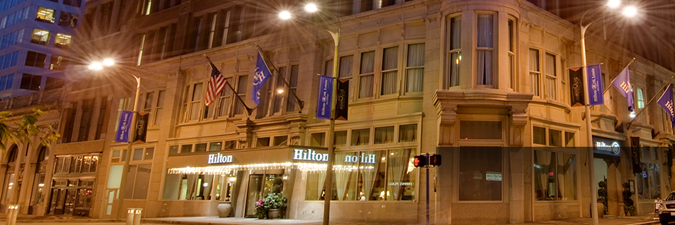 Book your stay at Hilton St. Louis Downtown at the Arch