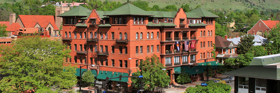 Hotel Boulderado (1909), Boulder, Colorado, Best Rate Guarantee on HistoricHotels.org